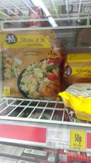 Egg Fried Rice Single Steam Sachets 50p @ Morrisons was £1.50