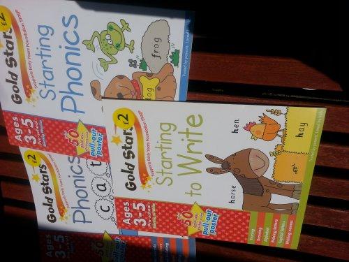 Gold Star learning Books £1.50 @ Wilko instore