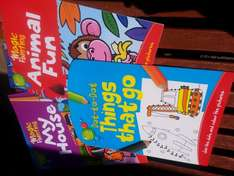 3 for 2 on all magic painting/puzzle/colouring/sticker books £1 @ wilkinsons