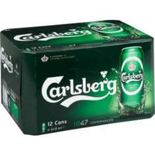 12x440ml cans of carlsberg £6 @ asda