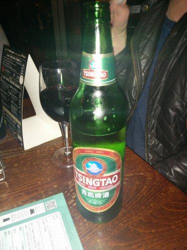 640ml bottle of Tsingtao £2.99 @ Wetherspoons