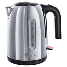** Russell Hobbs Windermere Polished Stainless Steel Kettle now £19.99 @ Sainsburys **