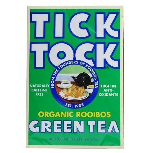 Tick Tock Organic Rooibos Green Tea (40 per pack) £2.50 for 2 @ Tesco