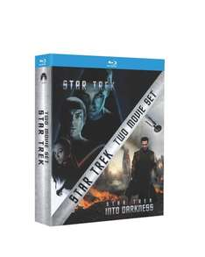 Star Trek & Star Trek Into Darkness - Double Pack (Blu-ray) @ Amazon / Tesco - £10