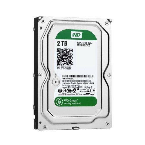 WD 2TB 6Gbps SATA III Hard Disk Drive - Green £58.50 @Amazon