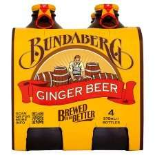 Bundaberg Ginger Beer 4X375  £2.99, or scans @ £1.30 @ Tesco