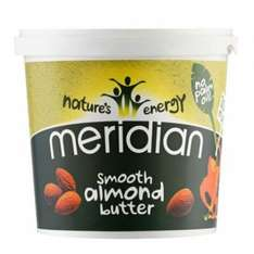 1KG of Meridian Almond Butter. £10.95 @ MuscleFoods plus £3.95 delivery or free on orders over £75