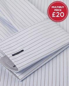 TM LEWIN, 4 Shirts £80, 20% Quidco until midnight 12/7 (del £3.95 if paid)