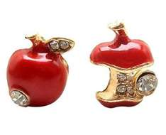 Apple earrings includes free delivery. No minimum order. 79p @ Amazon sold by Womdee