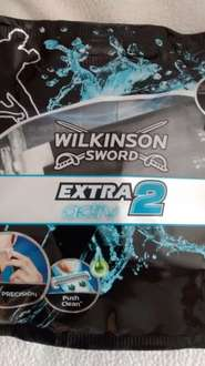 Wilkinson's sword extra 2 razers 5pack @ home bargains 89p