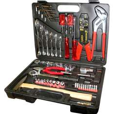 100PCS 1/4-INCH AND 1/2-INCH DR TOOL KIT £14.95 delivered @ ebay by direct2publik