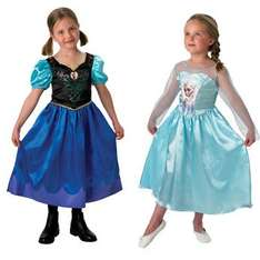 Disney Frozen Anna and Elsa Costume Twin Pack 5-6 years £29.99 delivered at Toys R Us (add something over 1p and they'll be £24.99 with voucher)