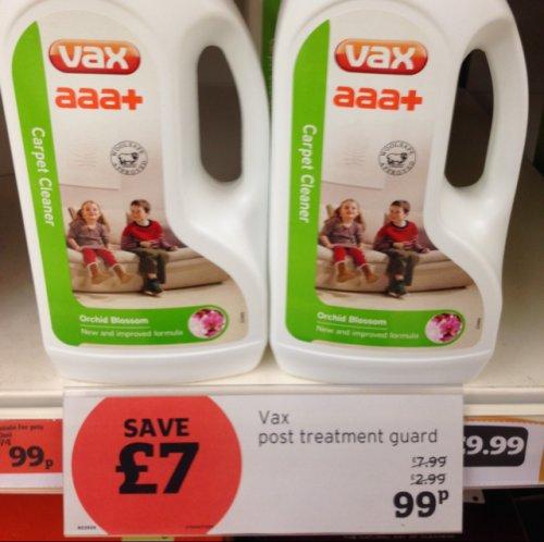vax carpet cleaner 1.5litre 99p @ sainsburys