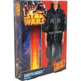 Star Wars Darth Vader Poncho Raincover  only £3 delivered @ Burton