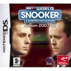 EXPIRED - WORLD SNOOKER CHAMPIONSHIP 2007-2008 DS £7.18 @ Amazon