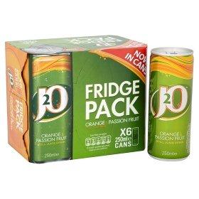 j20 cans 6 x 250ml £3.00 @ Asda
