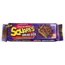 Kellogg's Squares Chocolate Breaksize 5 Pack,  Half Price, now 84p @ Tesco