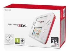 Nintendo 2ds red or blue on amazon £79.00