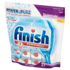 Finish Quantum Powerball Power and Pure (27 pack) - Half Price £4.50 @ Sainsburys Alnwick