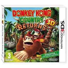 Donkey Kong Country Returns 3DS - £24.95 @ John Lewis