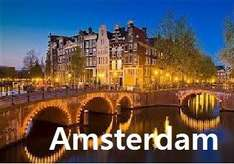 Cheap Amsterdam Flights from £40.98 Return @ Holiday Pirates (£19.99 one way)