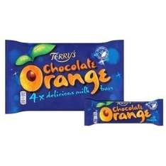 Terry's chocolate orange and 4x 40g bar packs £1 in Asda