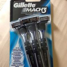 Gillette Mach 3 Disposables - £3.50 @ Tesco