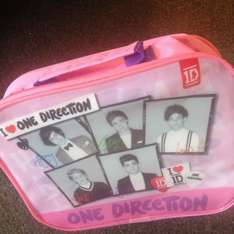 One Direction pink lunchbox. £2.99 Home Bargains