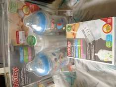 Nuby natural touch rhythm bottles £1.50 @ Boots