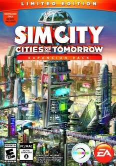 SimCity: Cities of Tomorrow Limited Edition Expansion Pack for PC/Mac £5.49 @ GAME