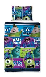 Character World Disney Monsters University Single Rotary Duvet Set £6.95 kidco fulfilled by amazon free delivery on £10 spend