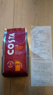 Costa Coffee 200g for cafetiere & filter £2.50 @ Tesco