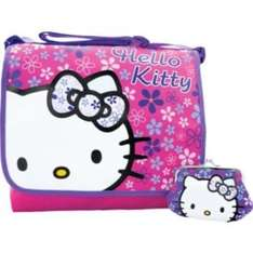 Hello Kitty Messenger Bag and Purse £7.99 Instore At Argos