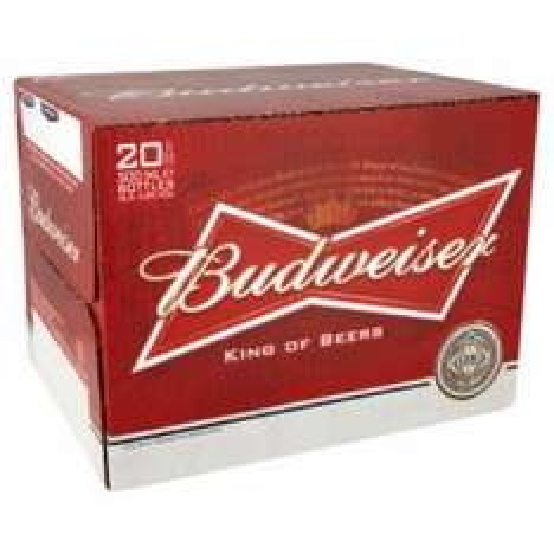 Budweiser 20 X 300ml £12.00 @ thecooperative