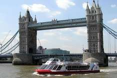 Thames Cruise Sightseeing River Red Rover Ticket (PTCSR1 SP2) Virgin experience days £18 for 2 Use voucher code JULYAFF15 for this price