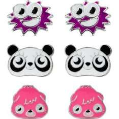 Moshi Monsters Earrings - Set of 3 - (from 9.99 to 3.99) now £2.99 @ argos
