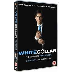 White Collar Complete Season 1 DVD Boxset £7.99 with free delivery from FoxDirect @ Play.com.