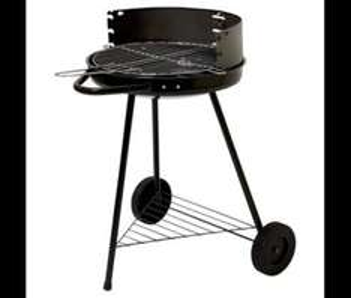Tesco Round Charcoal BBQ, 42cm £7.50 @ Tesco Direct