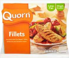 Quorn Fillets (6 per pack - 312g) was £1.99 now ONLY 94p @ Morrisons