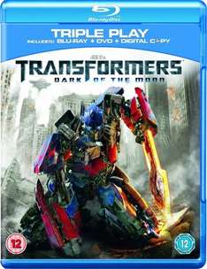 Transformers 3: Dark Of The Moon - Double Play on blu ray (new) for £3.29 delivered @ Zoverstocks/Play.com