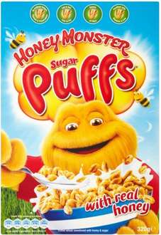 Sugar Puffs (320g) was £2.18 now ONLY £1.00 @ Morrisons