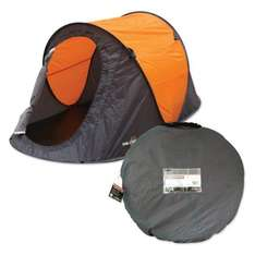 Milestone Camping Items - Pop-up tent £10, Sleeping Bag £5, Airbeds from £5, Beach Shelter £5 @ Morrisons Instore