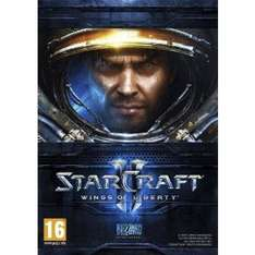 Starcraft II: Wings of Liberty £9.99 @ the game collection.net