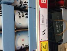 Fathers day and grandad mugs reduced to 37p @ Tesco instore