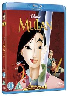 Mulan Blu-ray 700 Disney Movie Reward Points @ Disney Movie Rewards