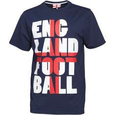 England Football T-Shirts from £2.39 plus £3.99 delivery All Sizes @ MandMDirect!
