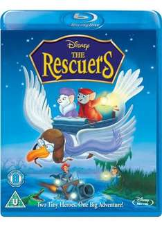 The Rescuers (Blu-Ray) @ Base - £6.99