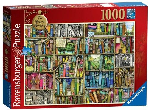 £4.99 Ravensburger 1000pcs puzzle The Bizarre Bookshop delivered with Amazon Prime
