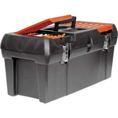 Black & Decker 19 inch tool box with tool tray at Homebase £8.49