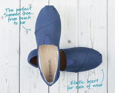 Men's Canvas Shoes £6.99 @ ALDI